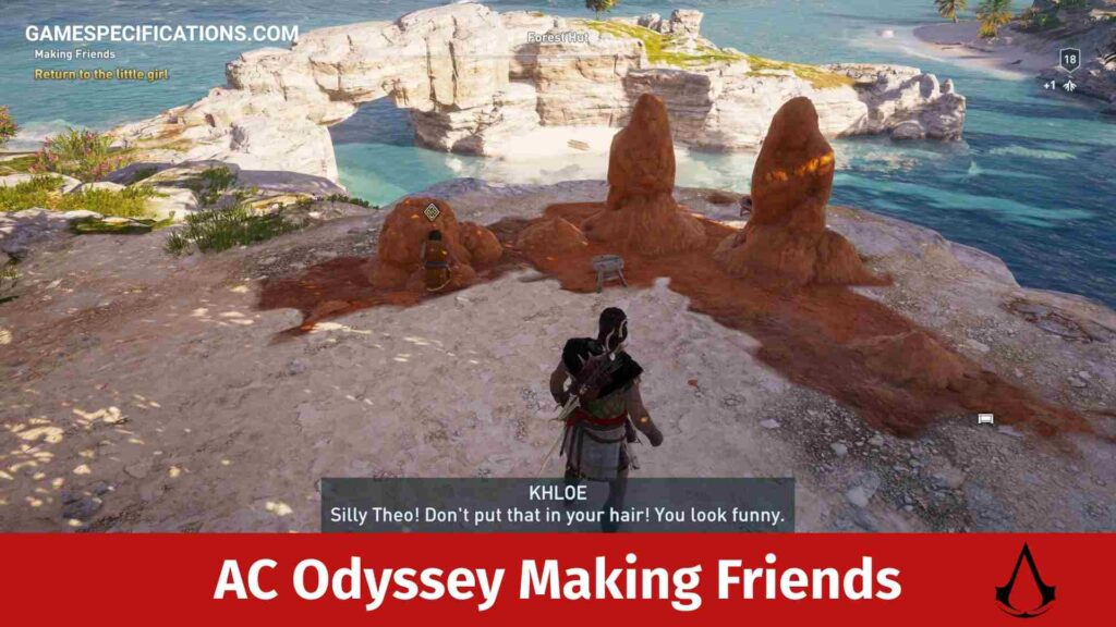 Assassin's Creed Odyssey Making Friends