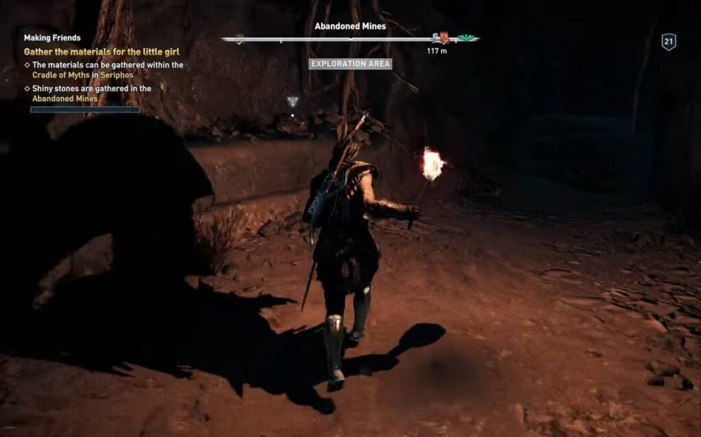 Assassin's Creed Odyssey Abandoned Mines