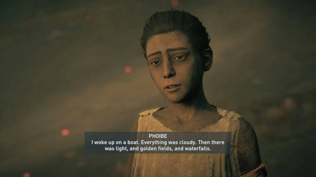 Assassin's Creed Odyssey Phoibe Underworld