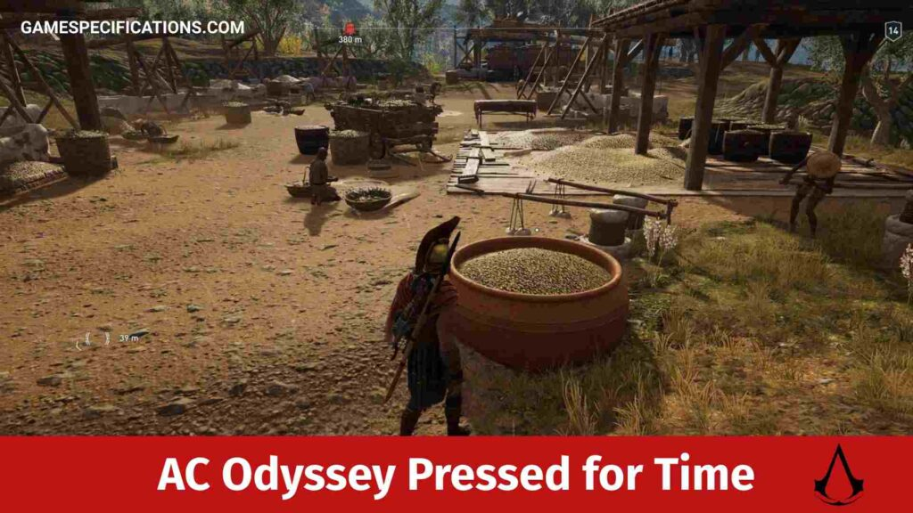 Assassin's Creed Odyssey Pressed for Time