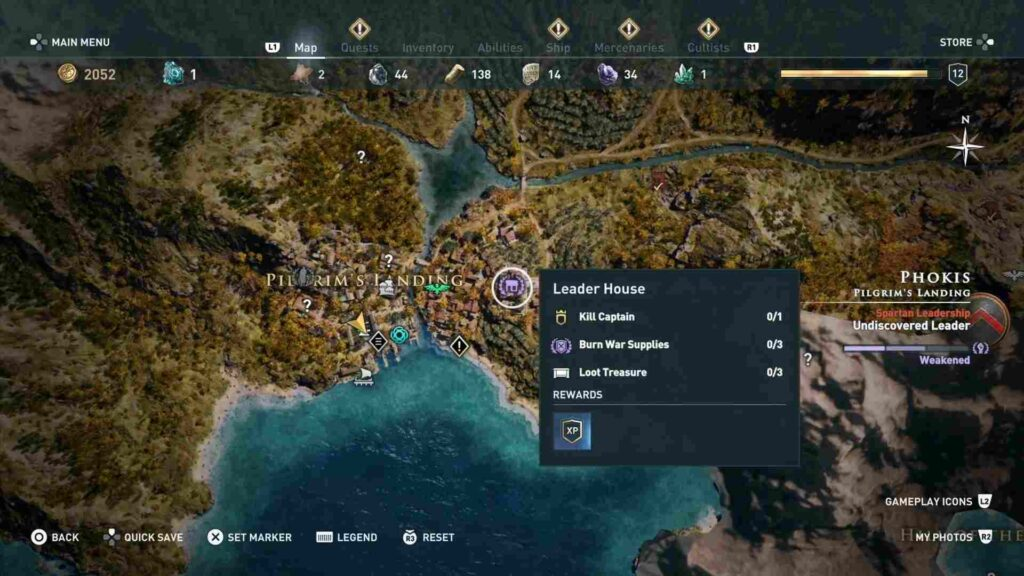 Assassin's Creed Odyssey Pressed for Time Location