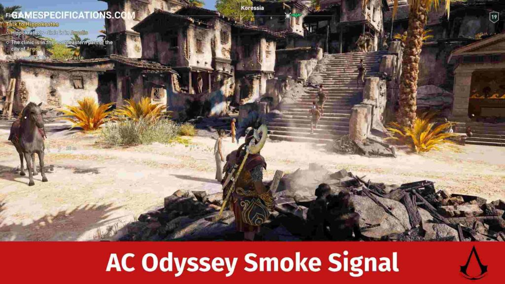 Assassin's Creed Odyssey Smoke Signal