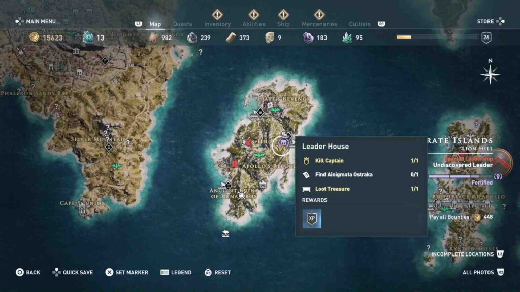Assassin's Creed Odyssey Smoke Signal Location