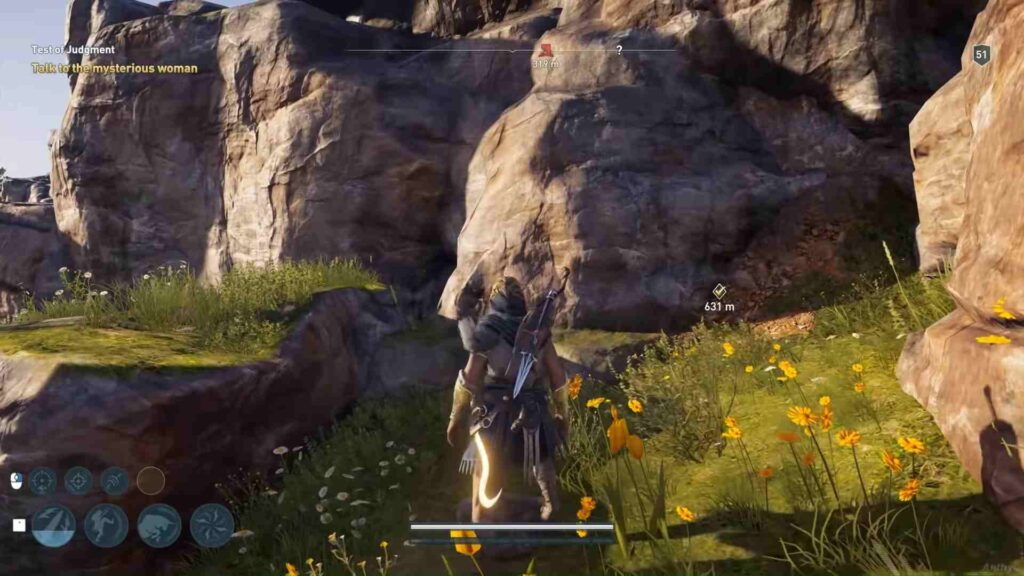 Assassin's Creed Odyssey Test of Judgement Graveyard