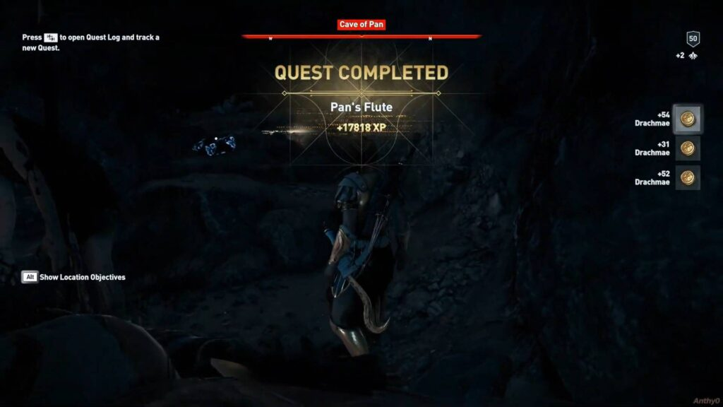 Assassin's Creed Odyssey Pans Flute