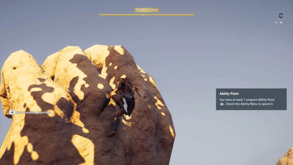 Assassin's Creed Odyssey Red Finger