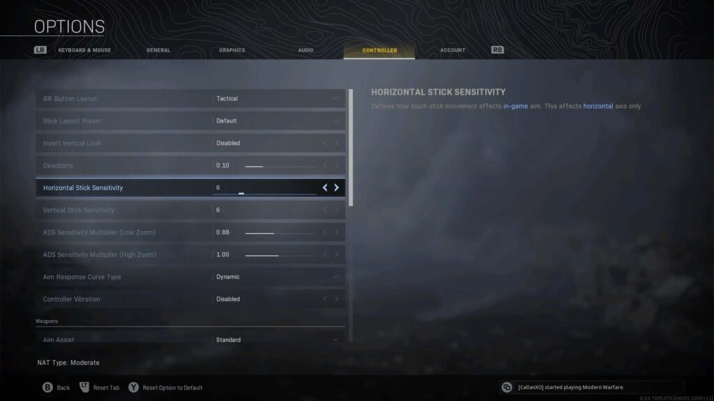 Best COD Warzone Controller Settings