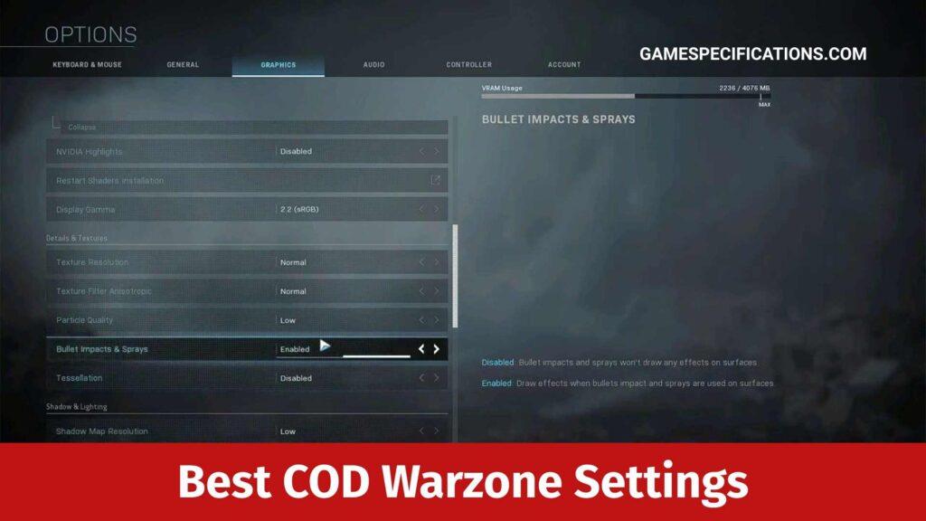 Best COD Warzone Settings