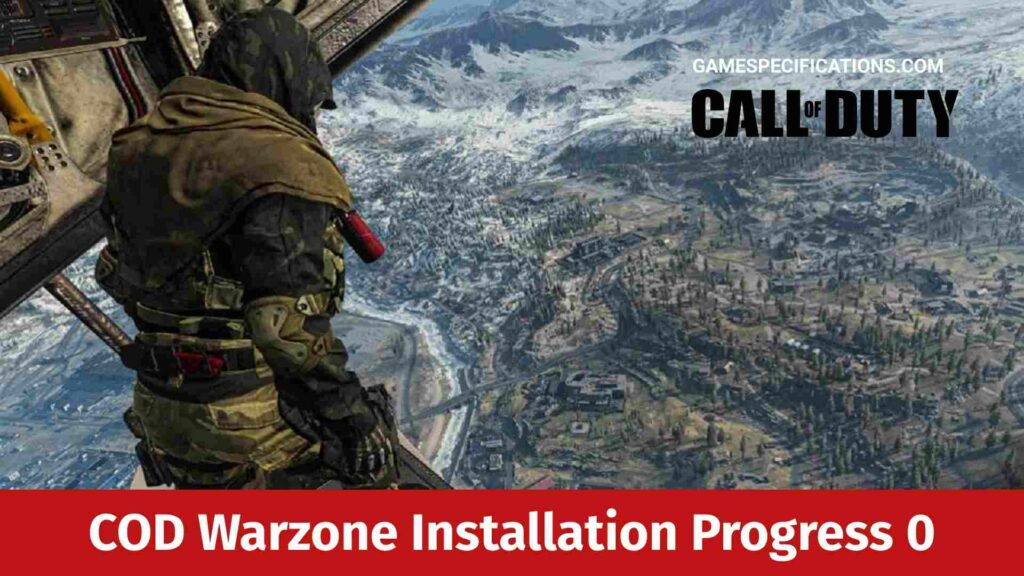 COD Warzone Installation Progress 0