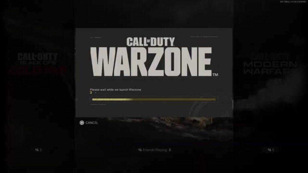 COD Warzone Installation Progress 0 Error