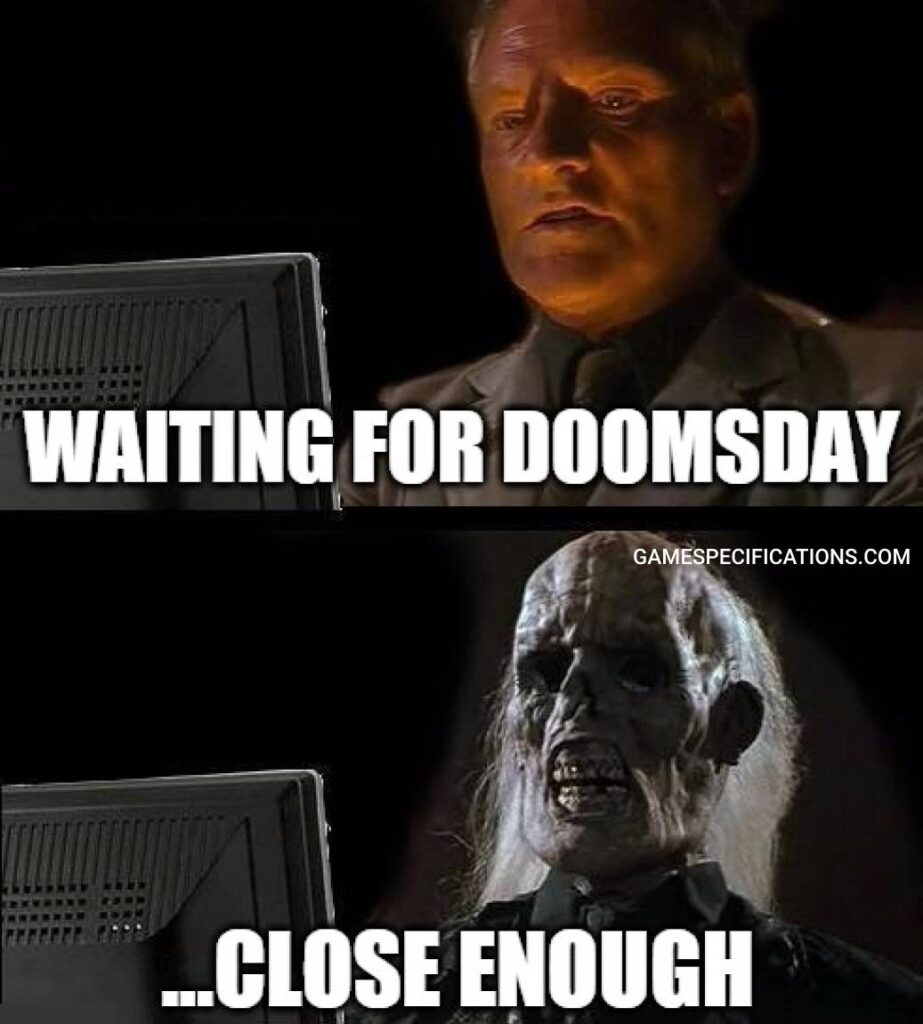 Cod Warzone Meme The Doomsday Wall