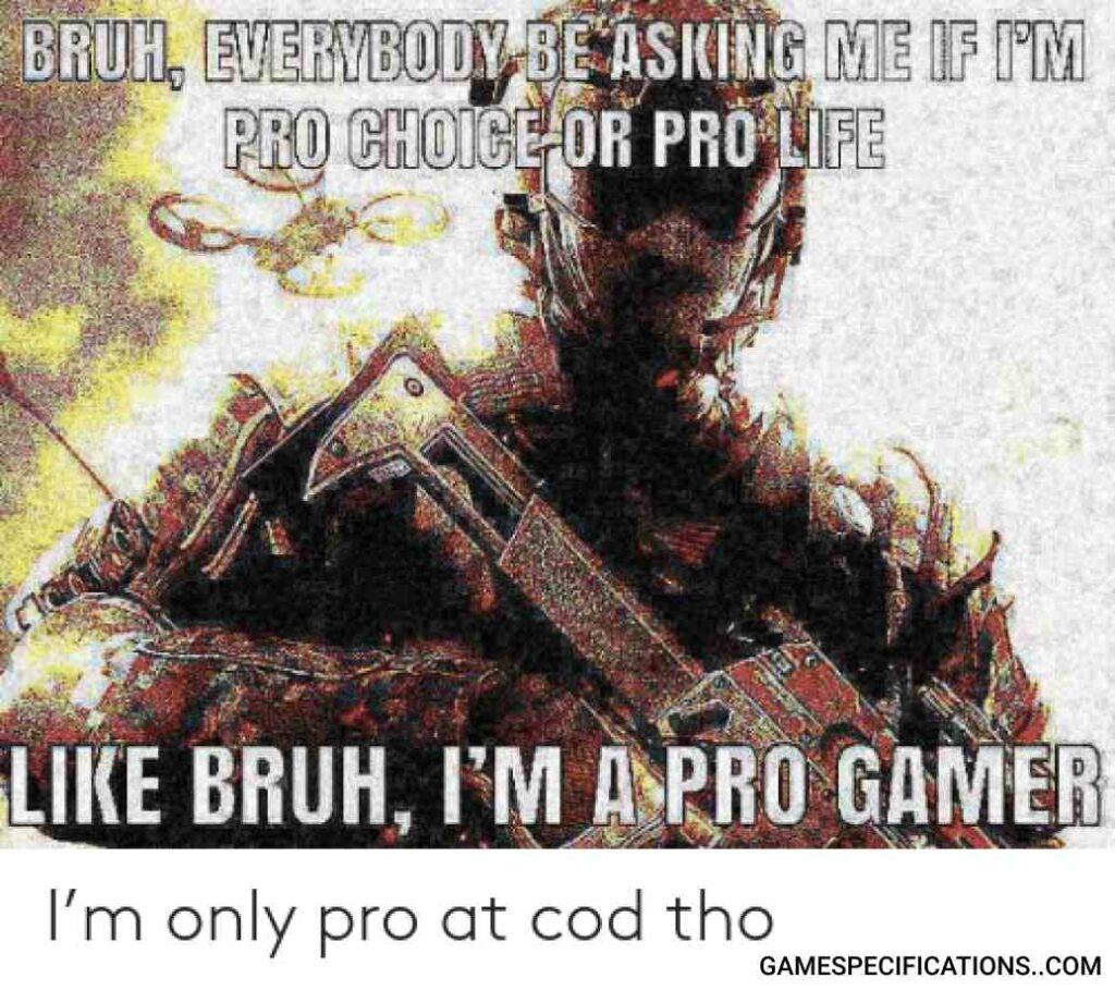 Cod Warzone Meme Pro
