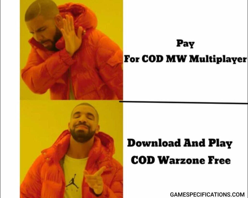 Warzone Meme Free