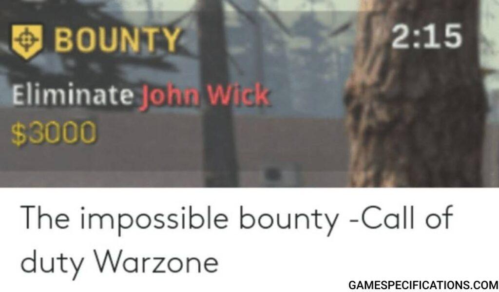 Cod Warzone Meme John Wick Bounty