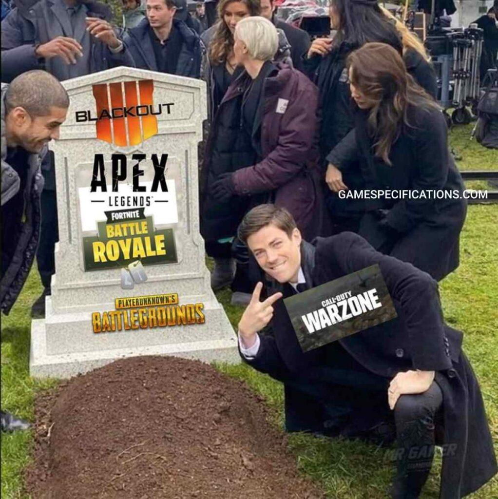 Warzone Meme Killed
