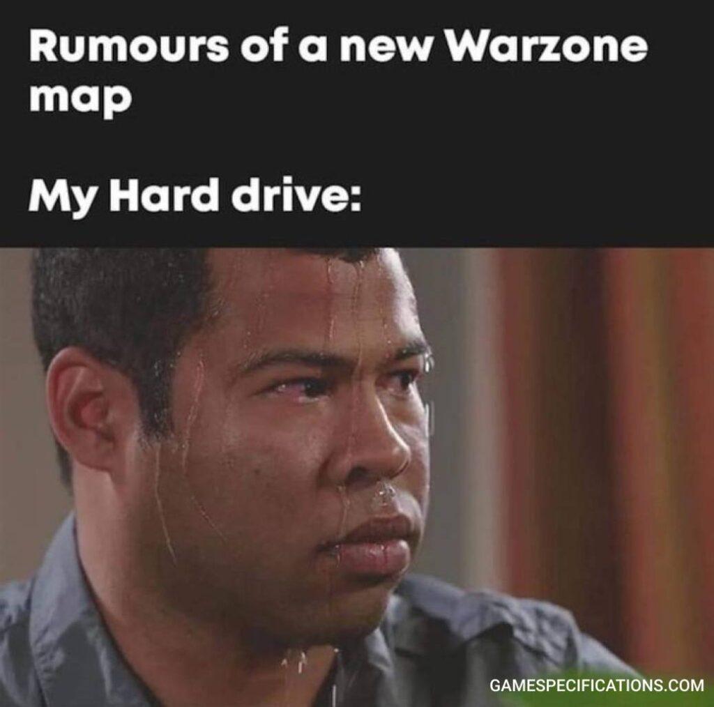 Warzone Meme Hard Drive