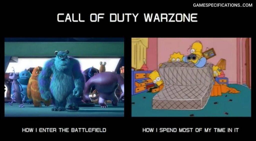 Warzone Meme Fight