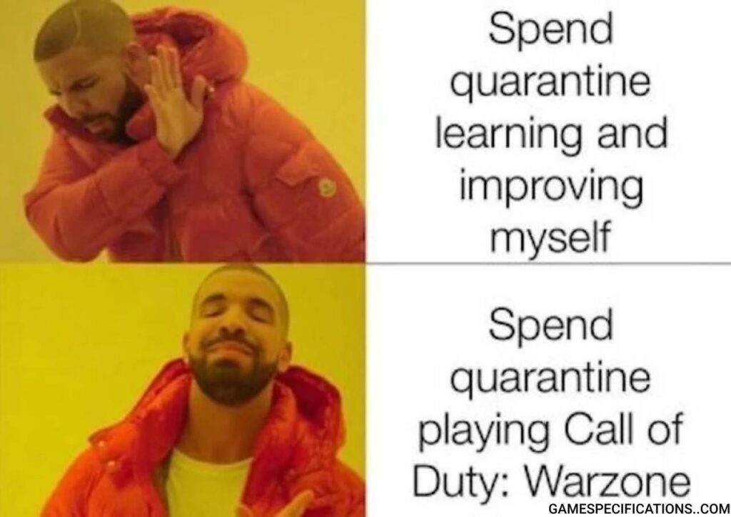 Warzone Meme Difficult