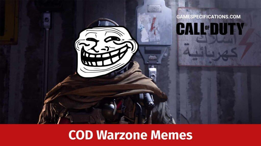 Cod Warzone Memes