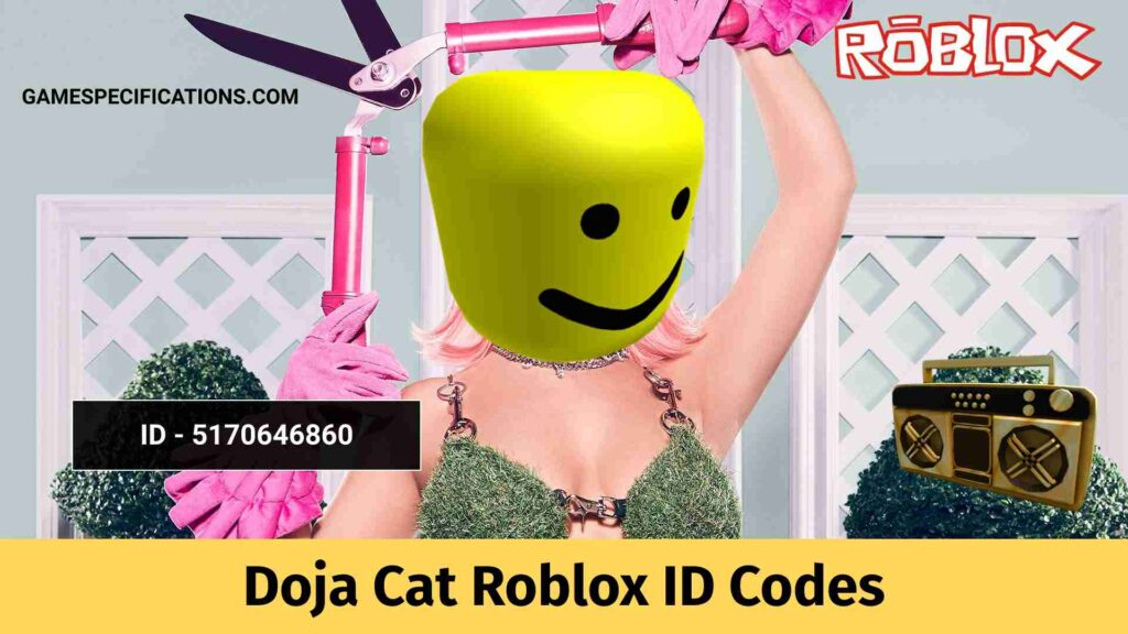 Doja Cat Roblox ID Codes