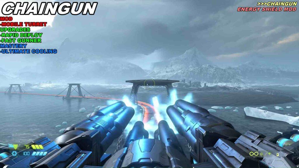 Doom Eternal Weapon Chaingun