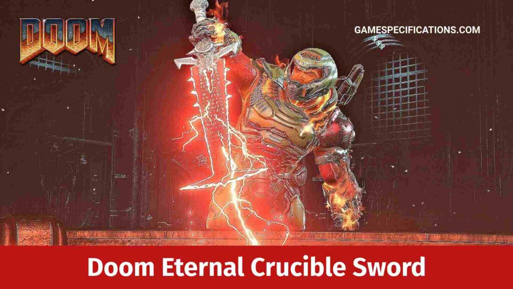 Doom Eternal Crucible Sword