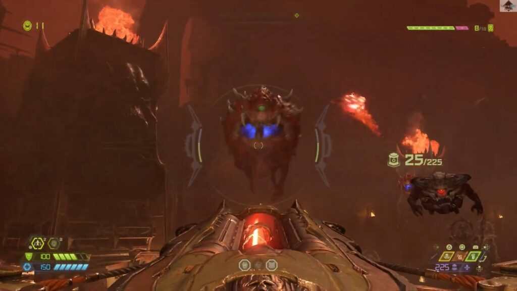 Doom Eternal Enemy Cacodemon
