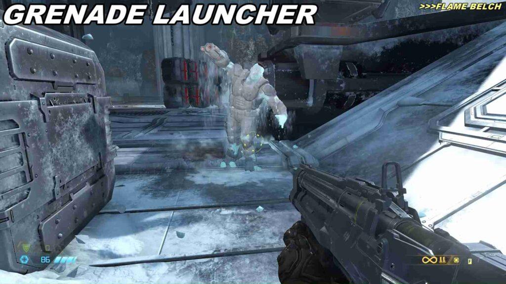 Doom Eternal Weapon Equipment Launcher