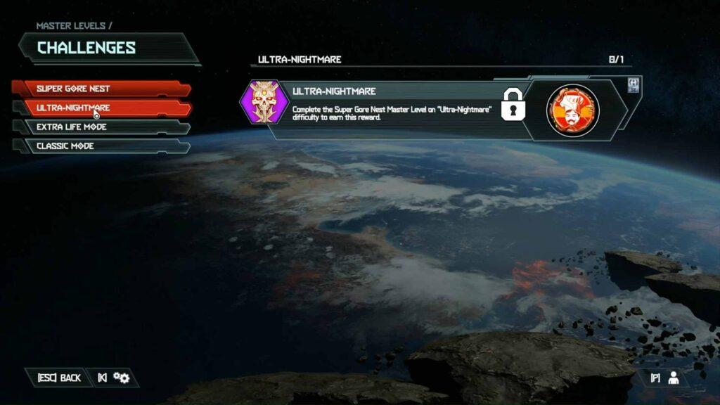 Doom Eternal Master Level