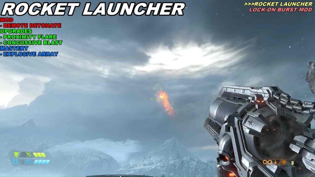 Doom Eternal Weapons Rocket Launcher