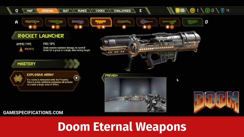 Doom Eternal Weapons