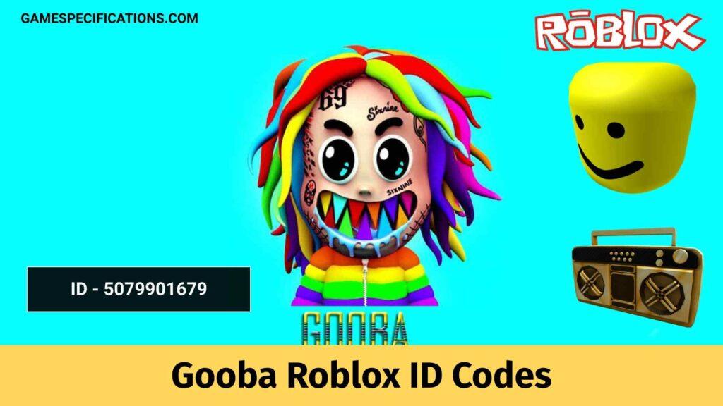Gooba Roblox ID Codes