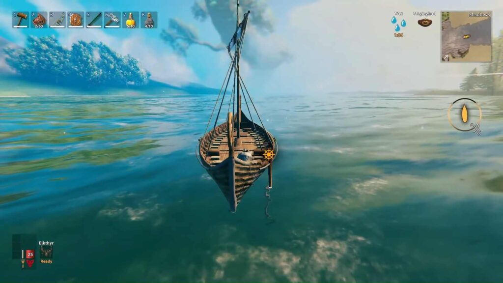 How to use Valheim Boats