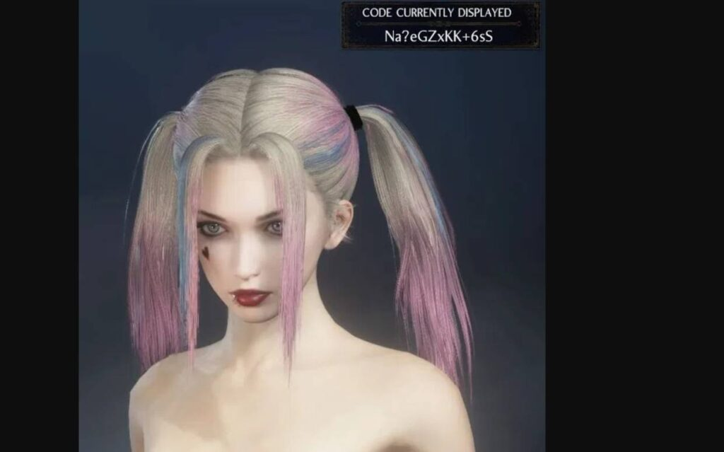 Nioh 2 Character Creation Harley Quinn Codes