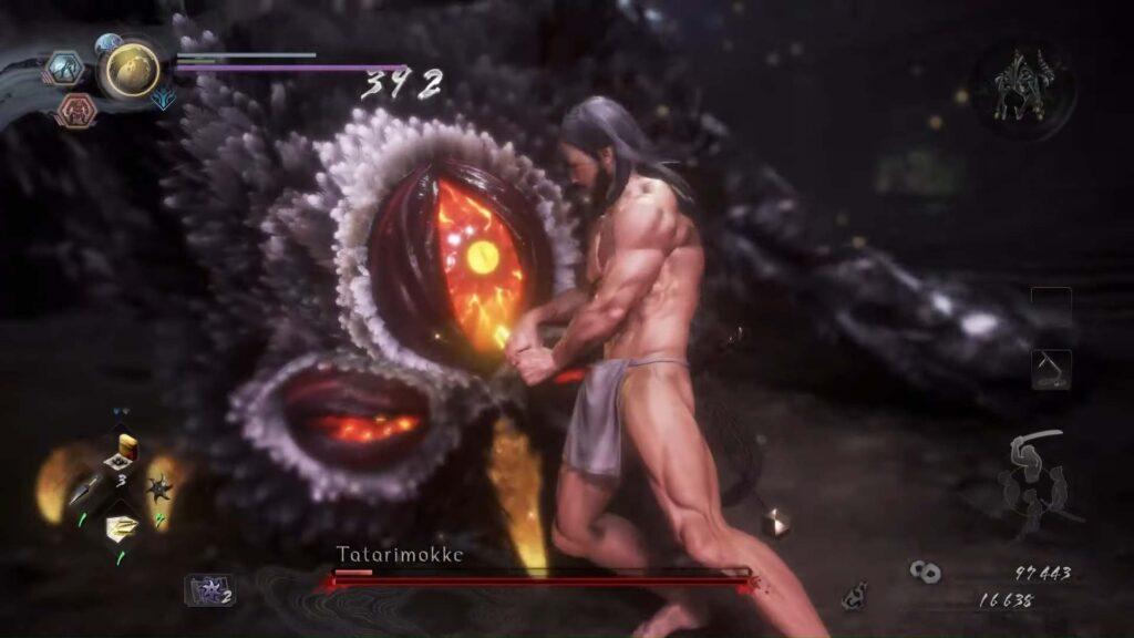 Nioh 2 Tatarimokke Defeat