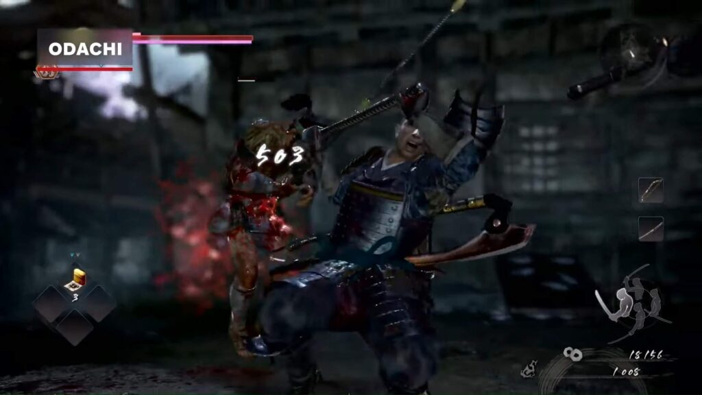 Nioh 2 Odachi Weapon