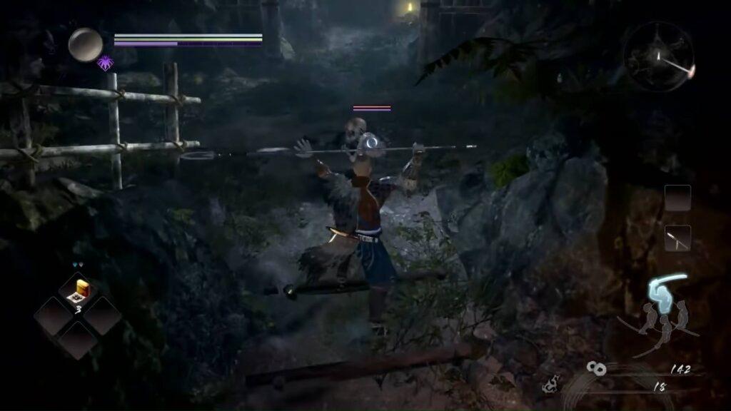 Nioh 2 Spear Weapon