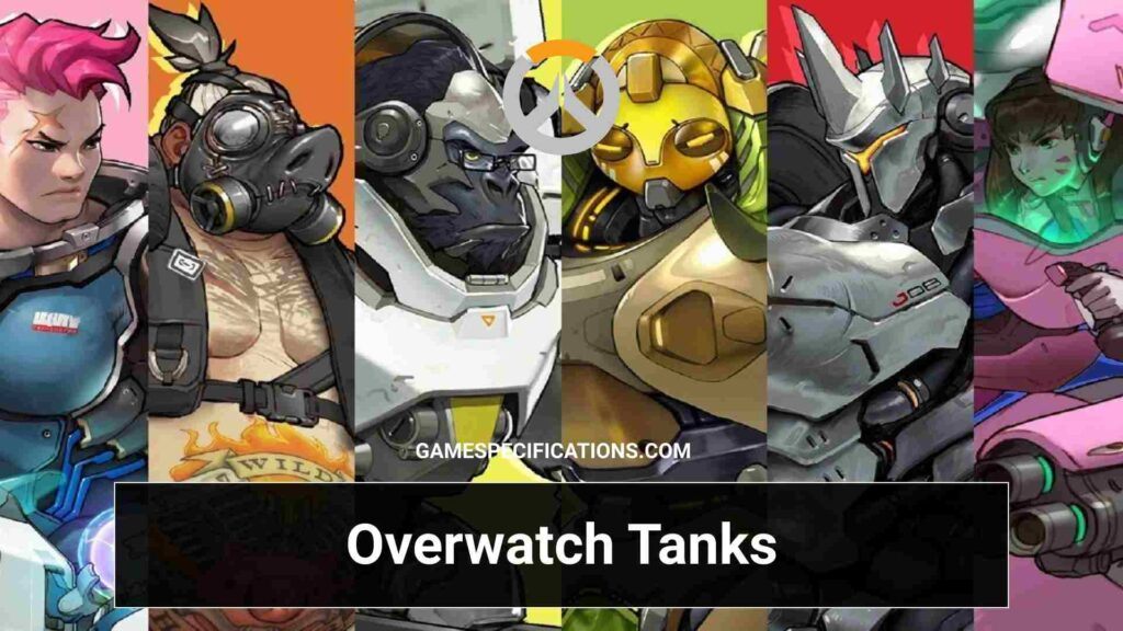 Overwatch Characters: Tank Heroes
