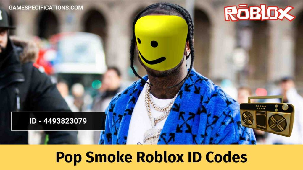 Pop Smoke Roblox ID Codes