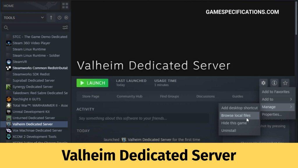 Valheim Dedicated Server