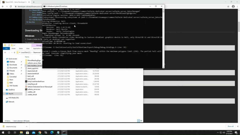 Valheim Dedicated Server Requirements