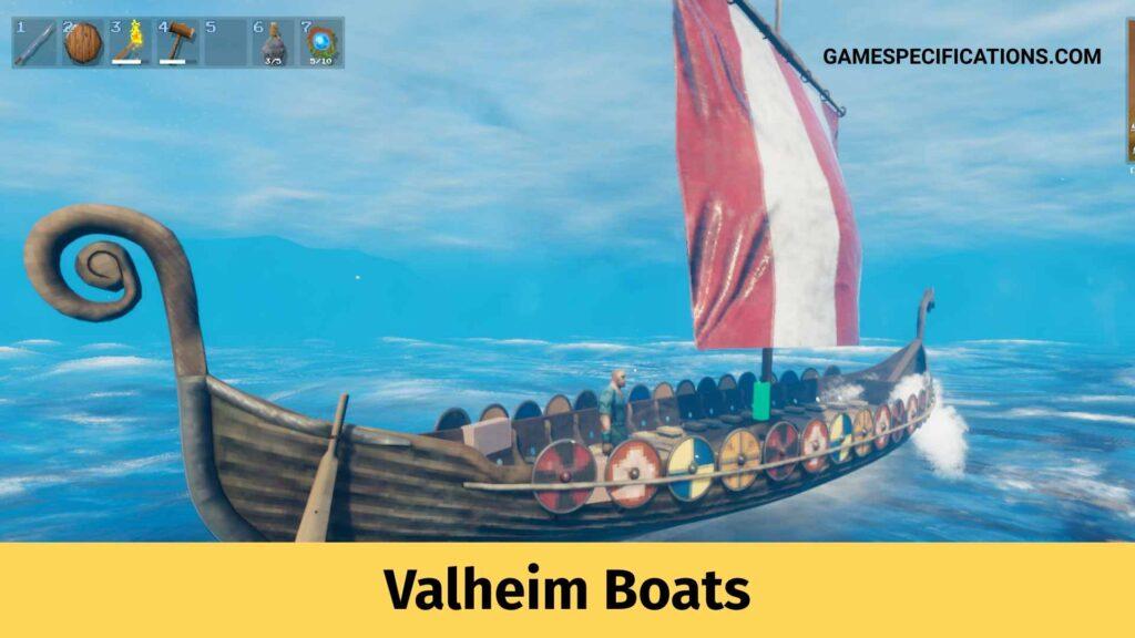 Valheim boats