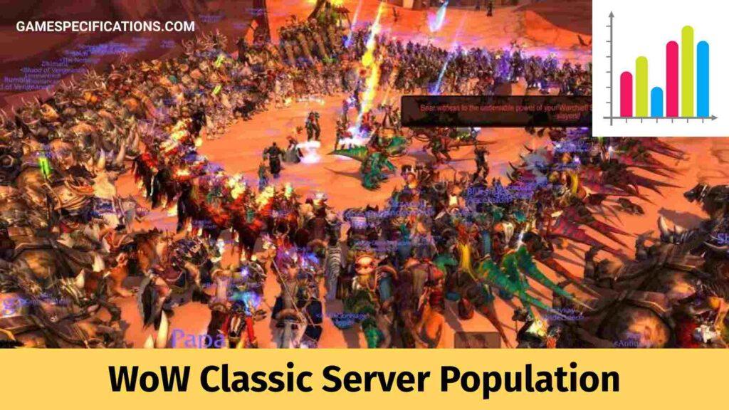 Wow classic Server Population