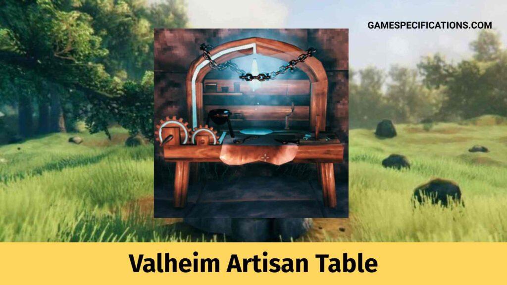 valheim artisan table
