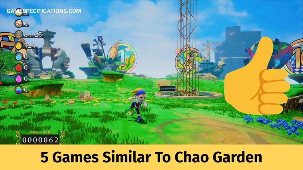 5 Games Similar To Chao Garden