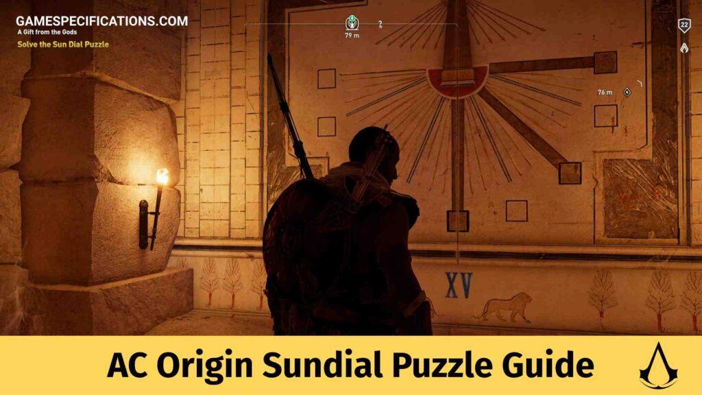 AC Origins Sundial Puzzle Guide