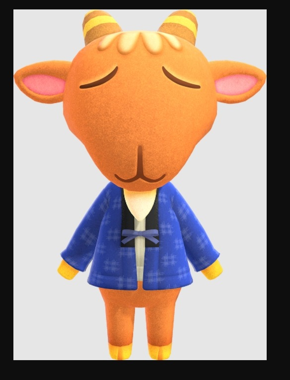 Animal Crossing Billy