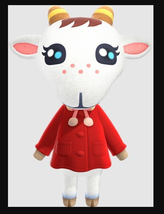 Animal Crossing Chevre