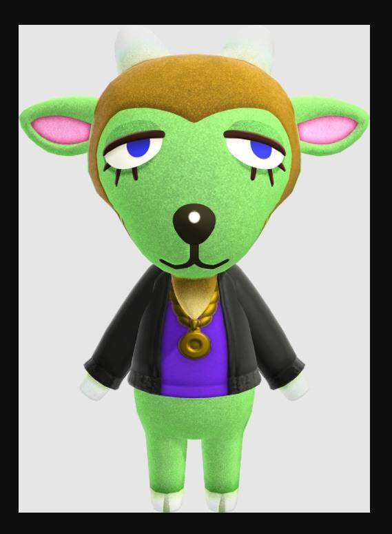Animal Crossing Gruff