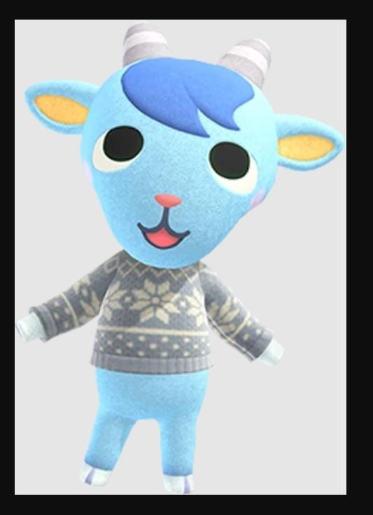 Animal Crossing Sherb